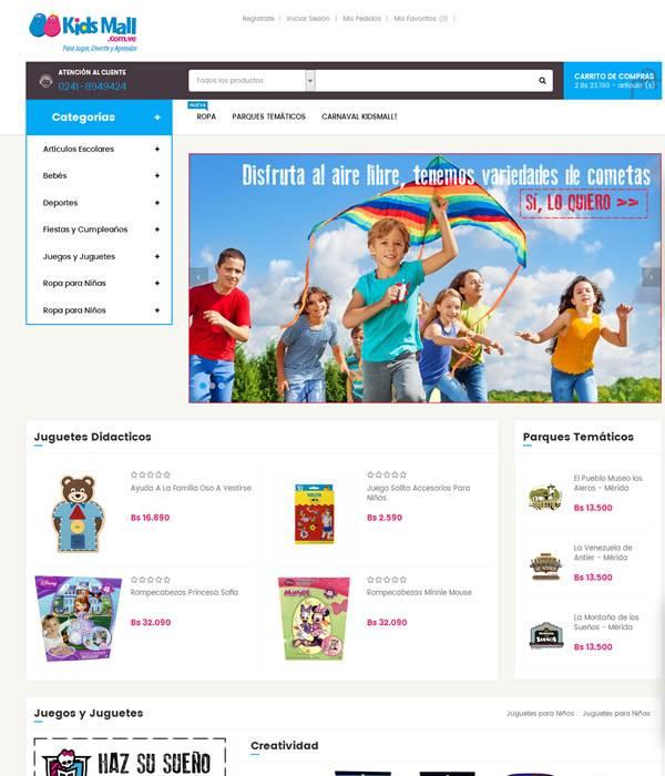 KidsMall.com.ve Tiendas Virtuales