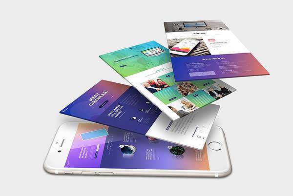 Diseño web mockup